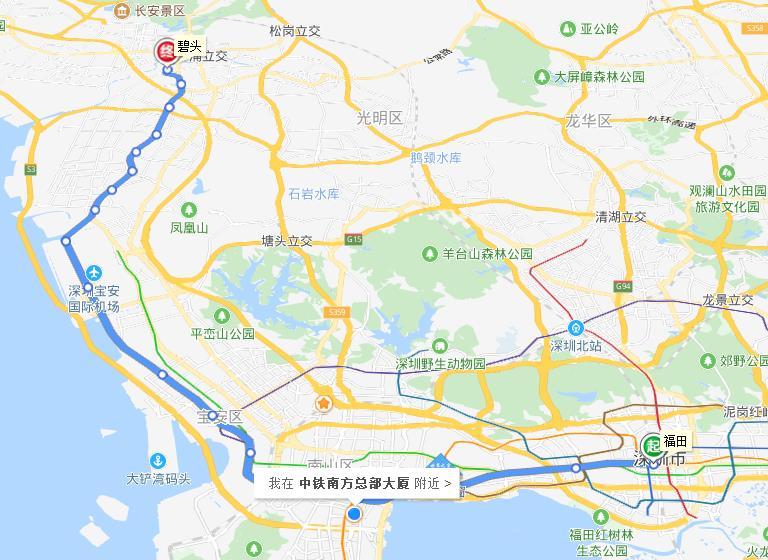 深圳地铁11号线11305-2标