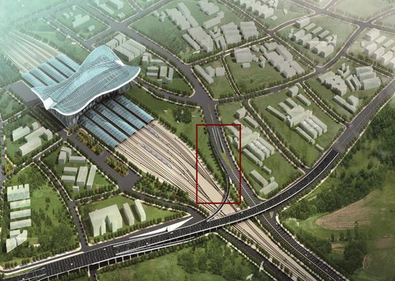 青岛太原路跨铁路高架桥工程
