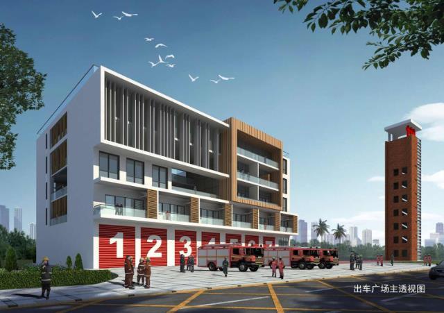 深圳南山区六座消防站